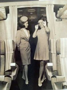 Northwest Airlines Flight Attendants early 1960s!