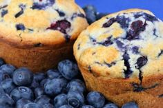 Blueberry Mini Muffins...THESE ARE AMAZING!! so good, so healthy and so the perfect snack!  sugar, gluten, dairy free.