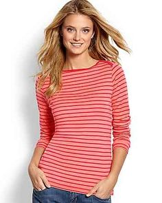 657f530681 Tommy Bahama - Indio Stripe Long-Sleeve Boatneck Top