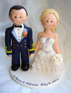The price shown is for a bride and groom in wedding attire placed on a white round base with name and date. The cake topper shown in the display picture is just an example. You will be receiving a cake topper personalised according to your needs. Price starts at $170. Figures are personalised( costume, dress, hairstyle and colour, flowers) based on the details you provide. Pets, props, pose and theme base costs a small extra depending on the work involved. Please contact me for prices. Few…