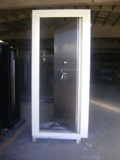 Stainles steel, torch proof vault door