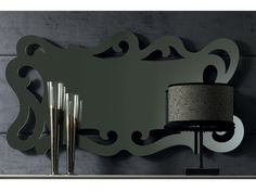 Download the catalogue and request prices of wall-mounted mirror Chloe, Zoe Gold collection to manufacturer Cortezari