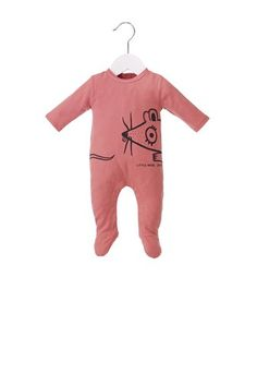 Little Marc Jacobs Interlock Pajama with Mouse graphic