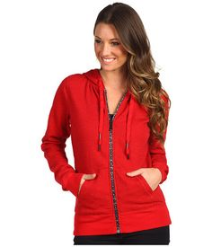$46.95 www.jewelsbyparklane.ca  FOX® Zip Up Shine On Style Hoodie in Three Colors