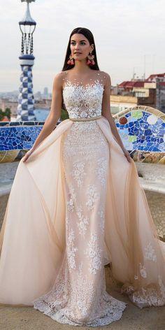 Milla Nova Bridal 2017 Wedding Dresses lina / http://www.deerpearlflowers.com/milla-nova-2017-wedding-dresses/4/