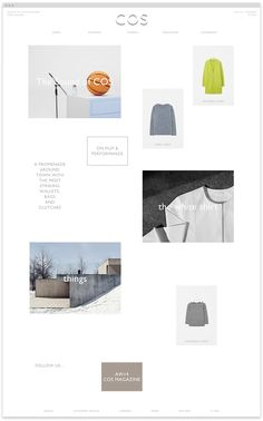 Creative Web, Wow-Web, Cosstores, Shop, and Responsive image ideas & inspiration on Designspiration Interface Web, Web Design, Great Words, Best Web, Magazine, Creative, Inspiration, Image, Shopping