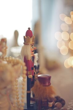 nutcracker and winter inspired wedding shoot