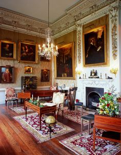 Castle Howard » The Music Room. Yorkshire, England, UK