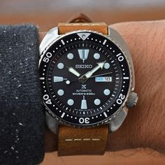 [Seiko] SRP777 Turtle on Leather : Watches