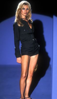 Kate Moss at Gucci S/S 1996