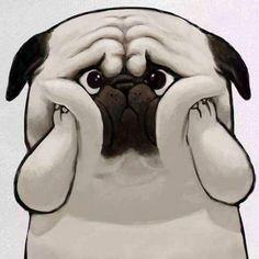 Cute Panda Drawing, Puppy Drawing, Cat Drawing, Panda Wallpapers, Funny Wallpapers, Anime Chibi, Kawaii Anime, Bulldog Cartoon, King Drawing