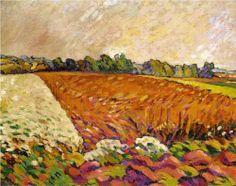 Louis Valtat, Field of Corn.