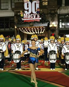 WVU Marching Band at Macy's Thanksgiving Parade! November 24, 2016