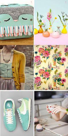 Pom ♥  Pom  Chic  : New post on my blog Mood Spring