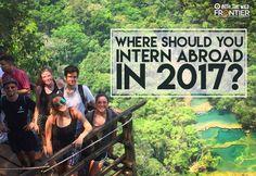QUIZ: Where Should You Intern Abroad In 2017? | blog.frontiergap | www.frontier.ac.uk | #quiz #intern #internships #nowhiring #jobsearch #travel #wednesdaywanderlust #gapyear #traveltips #quizyourfriends