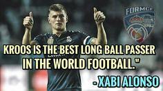 Xabi Alonso on Kroos!