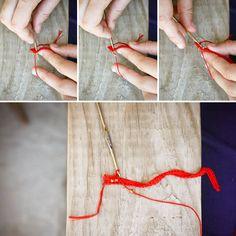 bracelet perlé au crochet