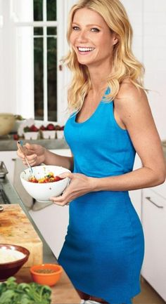 Gwyneth Paltrow- love her.... blog, goop