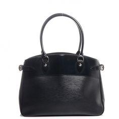 eacceee2d louis vuitton black epi bag passy - Google-Suche Bolsos De Louis Vuitton,  Bolso