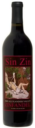 Alexander Valley Vineyards 2009 Sin Zin Zinfandel – Red Wine    Red Wine by Alexander Valley Vineyards from Sonoma County, California.  In 1978 Hank Wetzel produced the very first vintage of Sin Zin. The wine  was an immediate hit with spicy, jammy, elegant fruit flavors and an unforgettable  label. Thirty two years later, Sin…    Sonoma Wines