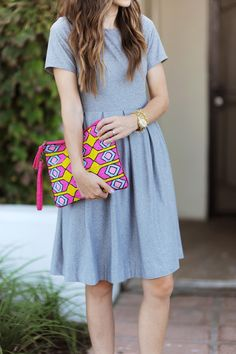 DIY PLEATED FIT + FLARE DRESS TUTORIAL from @merricksart