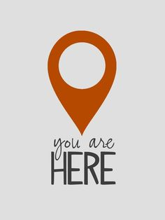 You Are Here. yearbook theme idea. You could incorporate different elements of…