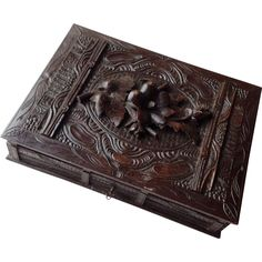 Black Forest Games Box 19th Century from Antiques of River Oaks on Ruby Lane $595 - Questions Call: 713-961-3333