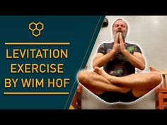 Levitation Exercise by Wim Hof - YouTube Wim Hof, The Force Is Strong, World Records, Health Benefits, Funny Quotes, At Least, Therapy, Jokes, Exercise