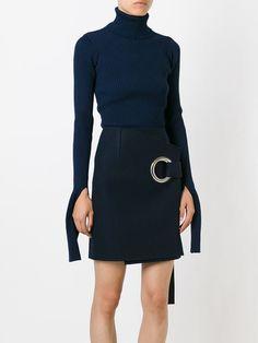 Jacquemus Belted Wrap Skirt - Penelope - Farfetch.com