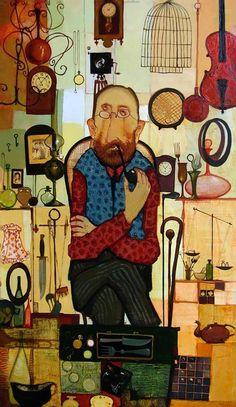 Художник Отар Имерлишвили: картины с грузинскими мотивами 15