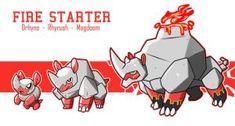 gen 7 starters evolution line