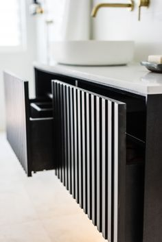 Just In Place specialises in bathroom, laundry and kitchen renovations. In-house construction company. Laundry Bathroom Combo, Downstairs Bathroom, Bathroom Inspo, Bathroom Ideas, Bathroom Interior, Modern Bathroom, Small Bathroom, European Laundry, Vanity Drawers