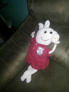 Peppa pig de toalha
