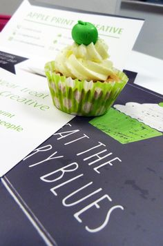 Appleprint promotional cupcake mailout
