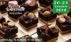 ¡El Salón del Chocolate en Moda Shopping está de vuelta! Del 20 al 23 de Octubre del 2016