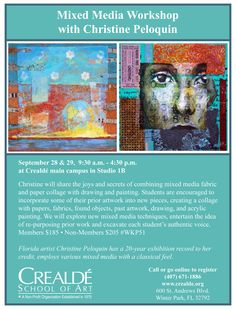 Come take a workshop! Blog — christine peloquin