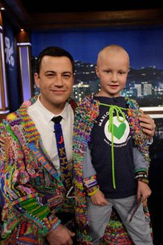 Please help get the word out! This is to raise money for pediatric cancer!!!  Jimmy Kimmel Live Genuine Suit of the Loom to benefit MaxLove Project LOA