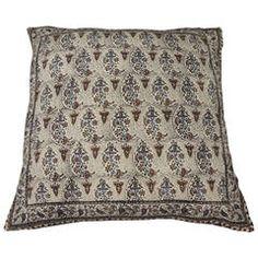 Indian Batik Paisley Floor Pillow