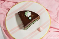 Tarta chocolate y menta; Chocolate mousse and peppermint cake Menta Chocolate, Peppermint Cake, Mousse, Cooking, Desserts, Food, Sweet Treats, Tarts, Meal