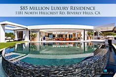 Luxury Residence - 1181 North Hillcrest Rd, Beverly Hills, CA