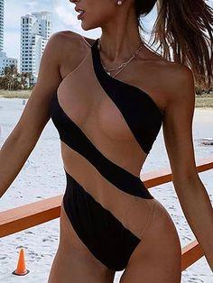 Tankini, Monokini Swimsuits, One Piece Bikini, One Piece Swimwear, Brunei, Ukraine, Trinidad Und Tobago, Black Monokini, See Through Bikini