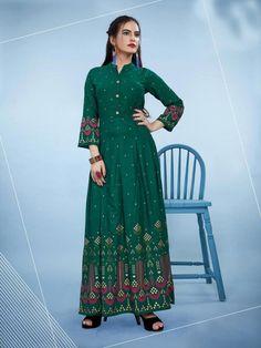 Indian Party Wear, Gowns Online, Anarkali, Salwar Kameez, Pakistan, Print Design, Trending Outfits, Stylish, How To Wear