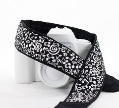 dSLR Camera Strap Music Notes Replacement Strap for Canon by ten8e