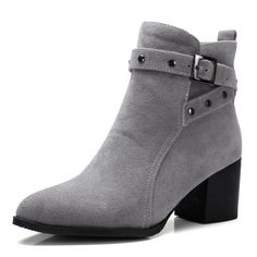 3dd2865914f4 Cross Buckle Strap Ankle Boots 3 Colors Size 4 to 17. Korean ShoesWide FeetCute  ...