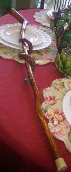 Antique Vintage Mid Century Handmade Hardwood by NeldaMaesCloset, $10.50