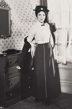 Julie Andrews, Mary Poppins, Cheeky.