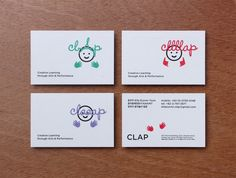 corporate identity for CLAP - studio fnt