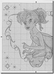 Tinkerbell 2 of 3 Fantasy Cross Stitch, Cross Stitch Fairy, Cross Stitch Angels, Cross Stitch For Kids, Cross Stitch Needles, Cross Stitch Charts, Cross Stitch Designs, Cross Stitch Patterns, Disney Stitch