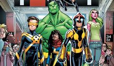 Nova série da Marvel, a Champions!