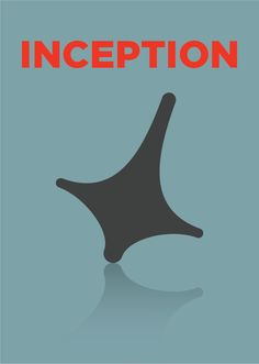 Poster flat design (Inception)